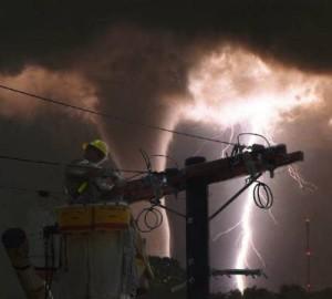 power line kansas