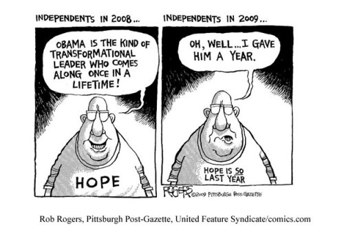 Independents Obama