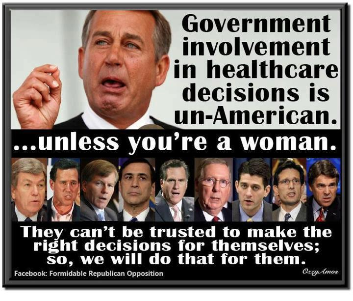 republicans on women s health