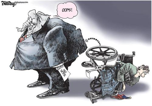 gop and the disabled vets