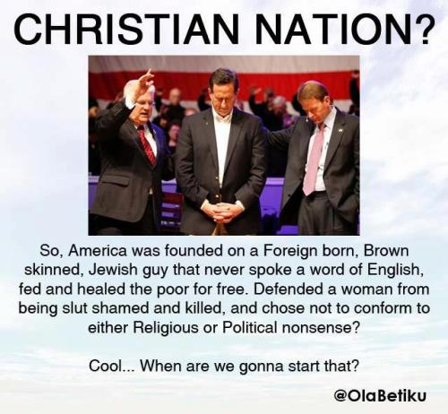 Christian nation