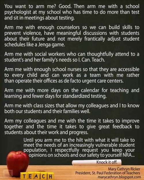 arm me