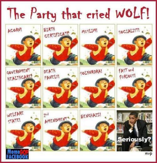 cried wolf