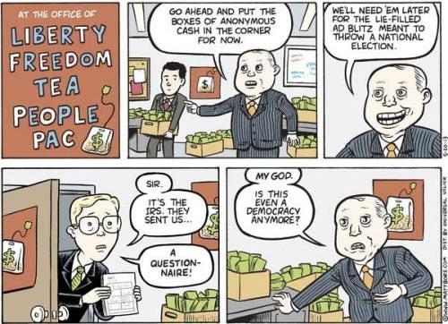 IRS scrutiny