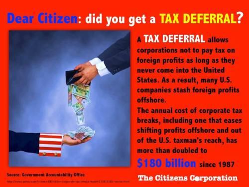 tax  deferral