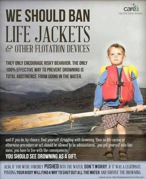 ban life jackets