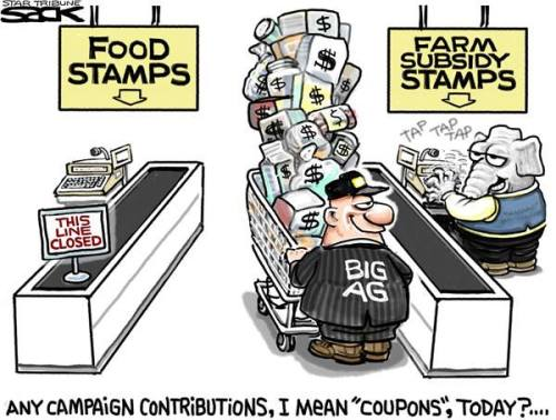 food and farm stamps