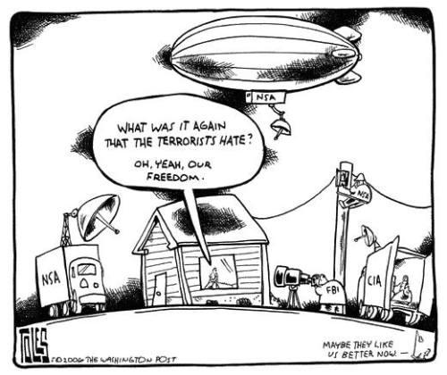 terrorists hate freedom
