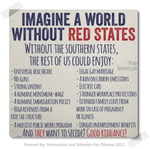 without red states