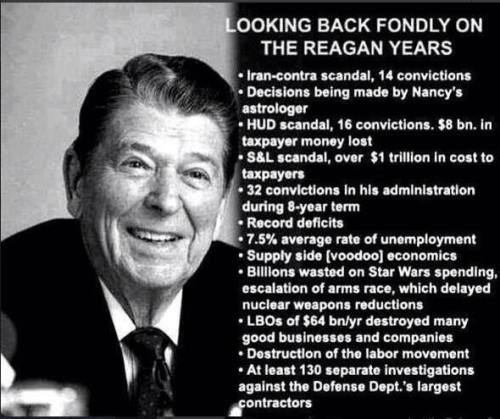 reagan years