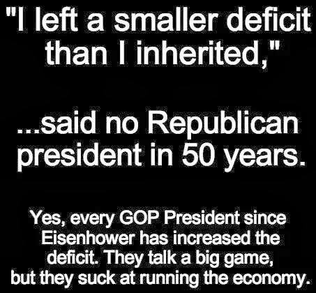 smaller deficit