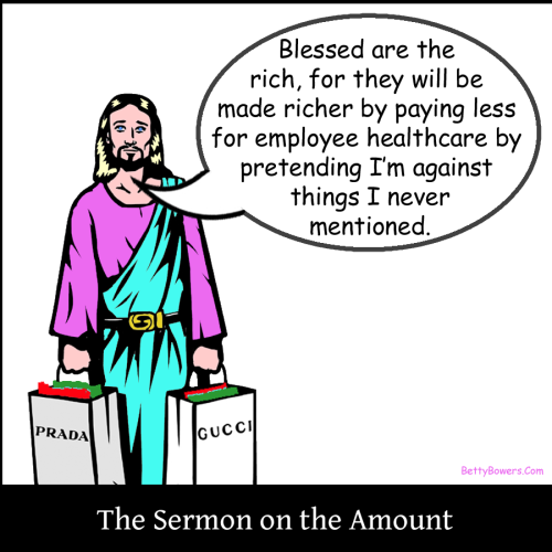 sermon on the amount