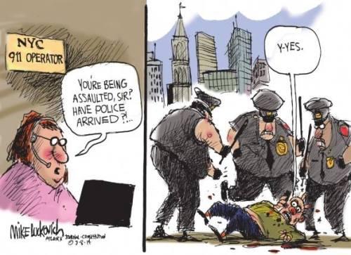 police thugs