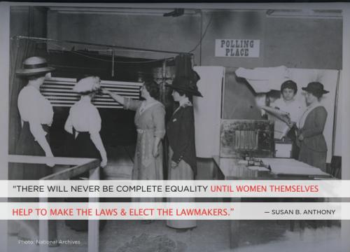 the women's vote