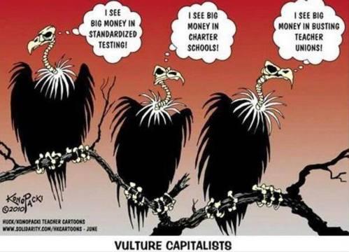 vulture capitalists