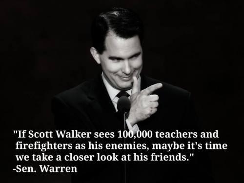 warren on walker