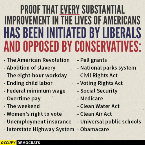liberal accomplishments