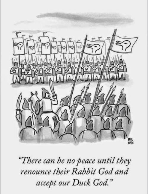 no peace