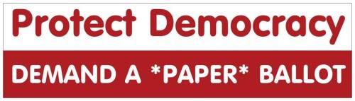 paper ballot