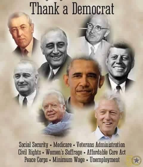 thank a democrat