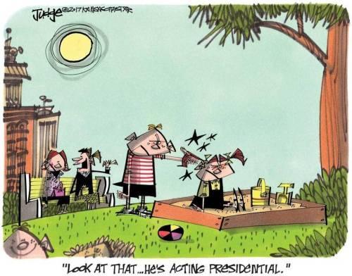 acting presidential