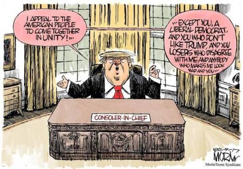 trump as consoler